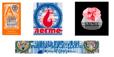 Certificado ISO 9001, GRIMEC, AERME INSTALSERVIS GRANOLLERS